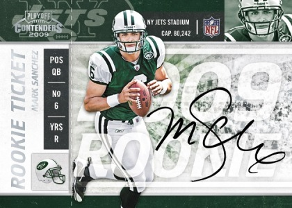 2009 Playoff Contenders Football Card Preview | Sports Card