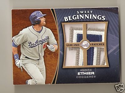 Incredible Andre Ethier Dodgers Logo Patch