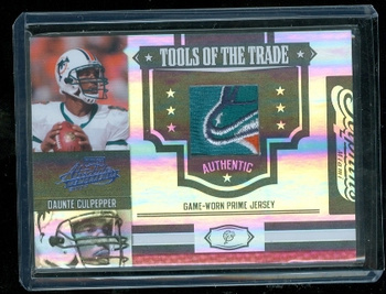 Gorgeous Daunte Culpepper Dolphins Logo Patch