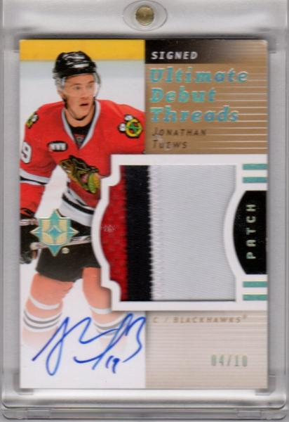 Toews Ultimate Debut Threads   10