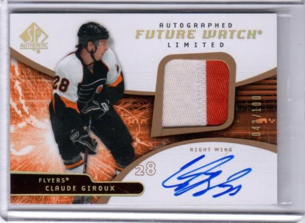Giroux SPA auto patch rookie