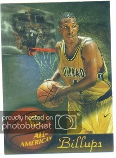 757a1bf91c4 1997 Press Pass All-American  A9 Chauncey Billups -  12.00 htg 1997 Press  Pass Double Threat Light It Up  LU24 Antonio McDyess  1.50