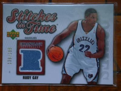 7a50b04ab ... Rudy Gay  199  4  TRADED  2010-11 Absolute Memorabilia Team Tandems  Materials Stephen Curry David Lee  6  100  4