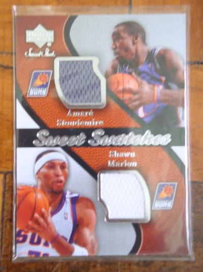 b9f5805af 2007-08 SP Game Used  103 Amare Stoudemire JSY  3 ...