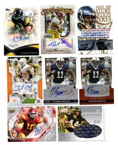 4dcc2e1c726 Below are links to scans of the nicer autos and game-used available:
