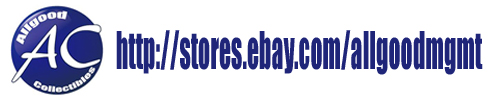 Check out the deals at Allgood Collectibles eBay Store