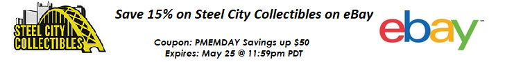 Find great items from Steel City Collectibles on eBay and save money!