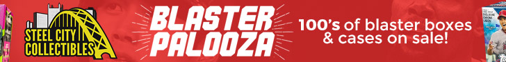 Check out Steel City Collectibles Blaster Palooza