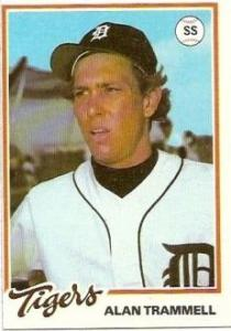 1978 Alan Trammell Burger King