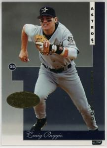 1996 Leaf Gold Press Proof Craig Biggio