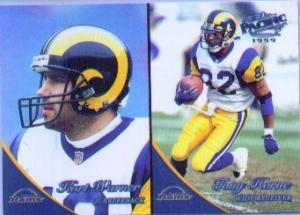1999 Pacific Kurt Warner Card