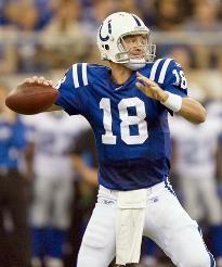 Peyton Manning Colts